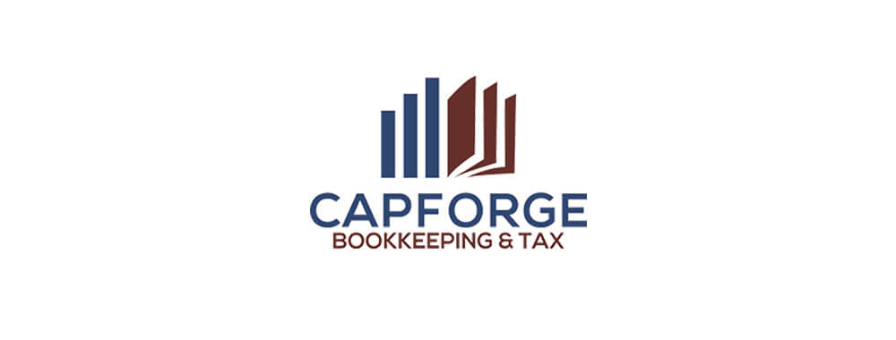 CapForge Bookkeeping & Tax Logo