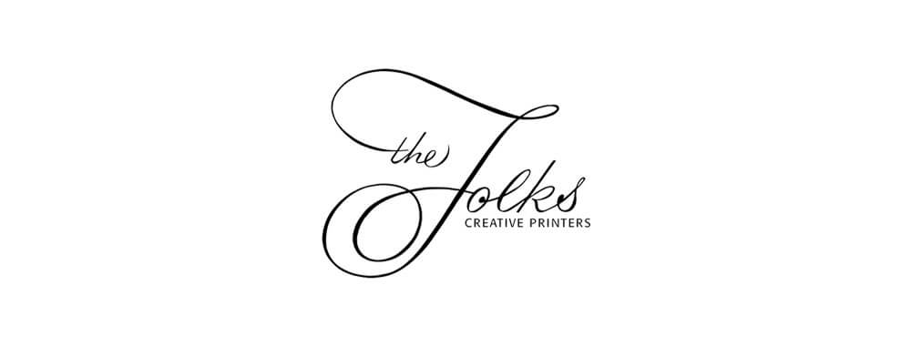 The Folks Creative Printers, Inc. Logo